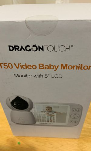 """Dragon Touch 5"""" Wireless Digital Video Baby Monitor, Auto-Motion Tracking Baby Camera, Pan & Tilt, Two-Way Audio, Lullaby, Night Vision, Audio Only M for Sale for sale  Queens, NY"""