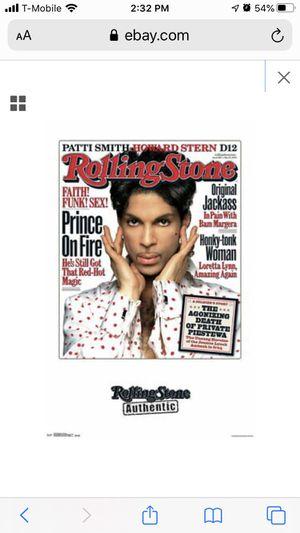 Prince Rolling Stone Poster for Sale in Atlanta, GA