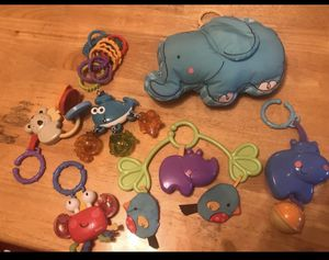 Baby car seat / stroller toys & mirror for Sale in Manassas, VA