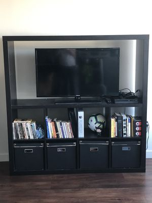 IKEA bookshelf & Entertainment center for Sale in Seattle, WA