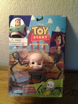 Vintage TOY STORY ( ACTION FIGURE BABY FACE IN BOX ) for Sale in Las Vegas, NV