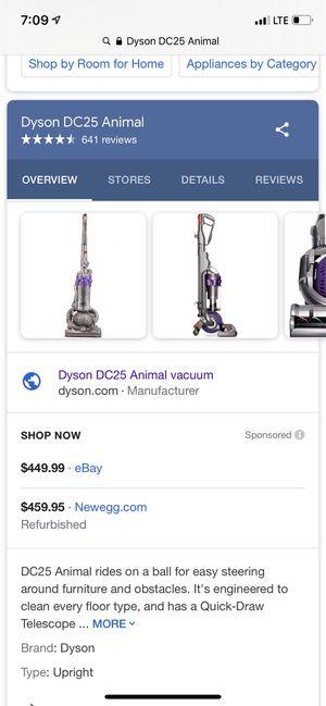 Dyson Animal DC25 for Sale in Lynnwood, WA