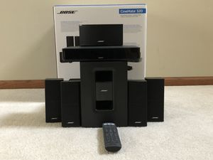 Home theater sound system - Bose Cinemate 520 for Sale in Naperville, IL