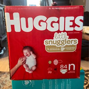 Huggies Diapers, Pamper Diapers, Rascal & Friends Diapers for Sale in Garland, TX