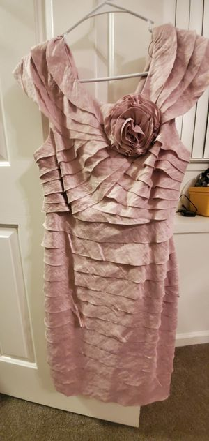 Size 12. Blush color. knee length formal dress for Sale in San Diego, CA