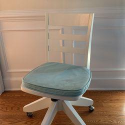 Pottery Barn Teen Wooden Desk Chair for Sale in Leesburg,  VA