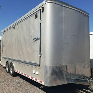Enclosed Trailer 8.5 X 20 X 9' Inside Tall for Sale in Mesa, AZ