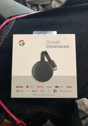 Google ChromeCast 3rd generation brand new for Sale in Austin, TX