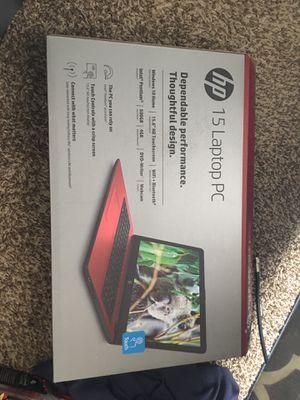 Hp 15inch touchscreen laptop for Sale in Newton, KS