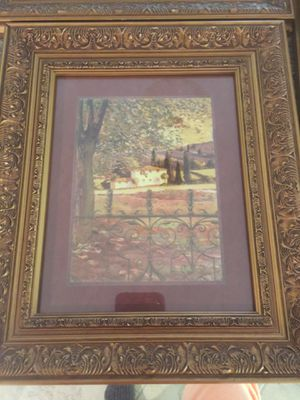 3 Beautiful pictures with frames for Sale in Johnston, RI