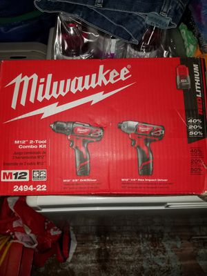 12v milwakee drill set NEW for Sale in San Lorenzo, CA