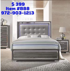 Bed with mattress free delivery for Sale in Dallas, TX