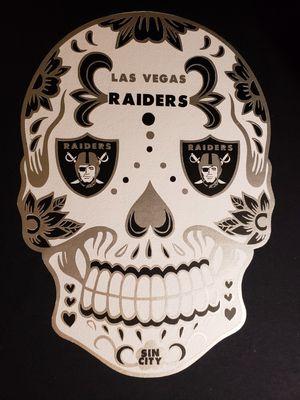 Custom personalizes Las Vegas Raiders sugar skull t-shirt or hoodie for Sale in Tacoma, WA