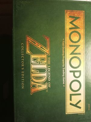 MONOPOLY: The Legend of Zelda Collectors Edition for Sale in Jacksonville, NC