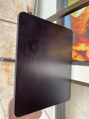 I have two black restaurant tables with four black chairs I bought them but they have been selling my restaurant with no use for Sale in Westerville, OH