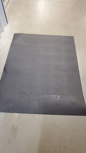 Exercise equipment mat for Sale in Fort Worth, TX