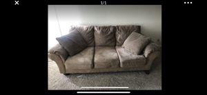 Microfiber couch for Sale in Santa Clara, CA