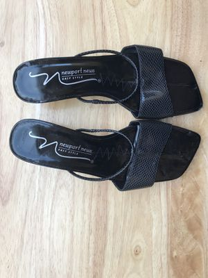 Shoe Newport News 6 1/2 Black for Sale in San Diego, CA