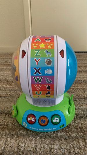 Leap frog spin and sing alphabet zoo for Sale in Clovis, CA
