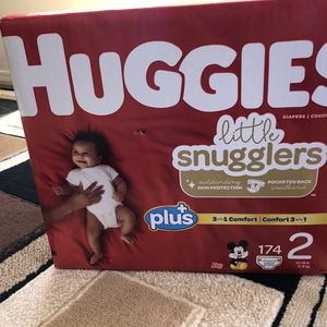 Huggies Diapers size 2 ( new ) FIRM on price for Sale in San Diego, CA