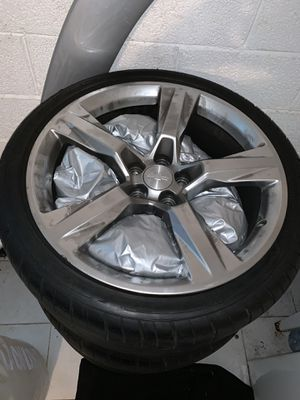 Stock rims off a 2018 camaro SS for Sale in District Heights, MD
