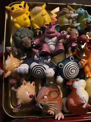 Pokémon toys old 1995 tomy toys for Sale in Modesto, CA
