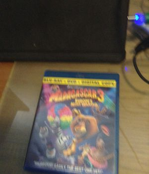 Blu Ray Madagascar 3 europes most wanted for Sale in Hialeah, FL