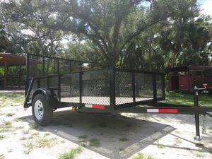 6.4x10ft and 2 ft mesh NEW TRAILER for Sale in Fort Myers, FL
