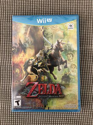 Brand New Sealed The Legend of Zelda Twilight Princess HD (Wii U) for Sale in Pembroke Pines, FL