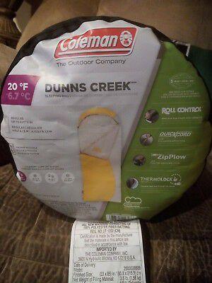 Coleman Dunns Creek Sleeping bag for Sale in Everett, WA