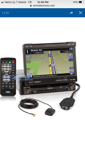Jensen navigation flip out radio for Sale in Concord, CA