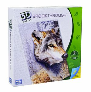 Breakthrough 3D Puzzle Wolf for Sale in Annandale, VA