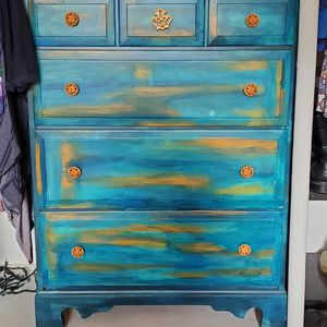 Fun and VIBRANT Dresser for Sale in Long Beach, CA