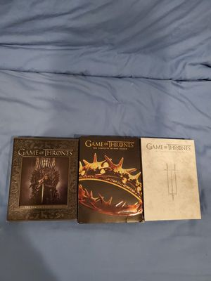 Game of Thrones seasons 1-3 for Sale in Lake Forest, CA