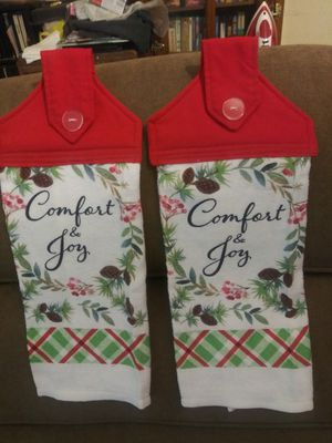 Hanging Christmas Dish Towels for Sale in Montgomery, AL