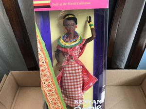1993 Kenyan Barbie Dolls of the World Collection for Sale in Lockport, IL