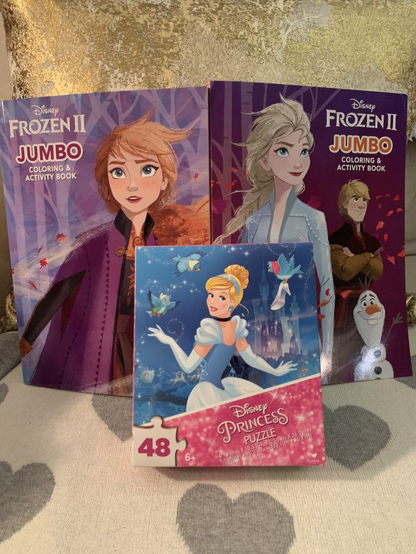 Brand New Disney Princess Puzzle Bundle!!