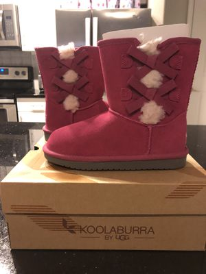Pink koolaburra by UGG girls boots size 2 brand new for Sale in Allen, TX