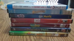 7 kid movies good condition (DVD player broken so we are selling them). for Sale in New York, NY