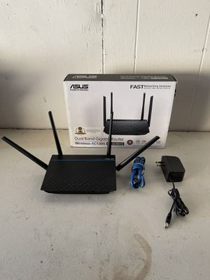 ASUS AC1300 Dual Band Gigabit Router for Sale in San Diego, CA