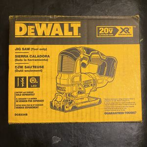 DeWalt 20V Jigsaw (tool only) for Sale in Los Angeles, CA