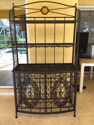 Bakers/wine rack for Sale in Palm City, FL
