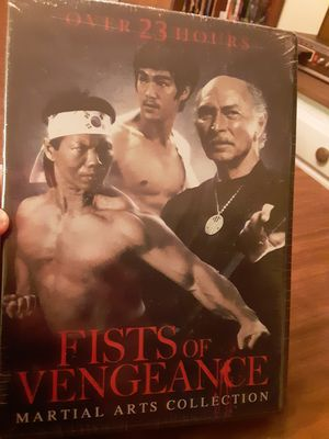 Fists of Vengeance 4 Disc Set DVD Brand New Sealed for Sale in North Port, FL