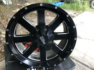 "Jeep jk 5 wheels 20"" 20x9 5x5 5x5.5 for Sale in Houston, TX"