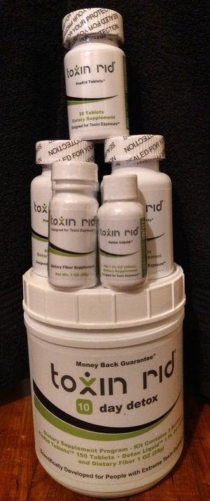 TOXIN RID - 10 day detox for Sale in Milton, FL
