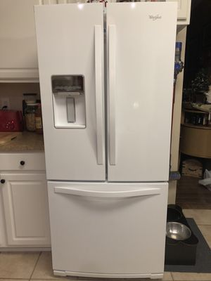 whirlpool fridge the model number is WRF560SEYW05; for Sale in Apex, NC