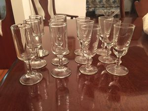 12 Vintage Cordial Glasses for Sale in West Richland, WA