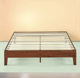 New In A Box Queen Size Deluxe Wood Platform Bed Frame for Sale in Columbus,  OH