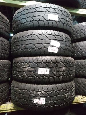 LT285/70R17 COOPER DISCOVERER AT3 OFF ROAD ALL TERRAIN TIRES 285/70R17 MOUNTED AND BALANCED 285 70 17 for Sale in Fort Lauderdale, FL