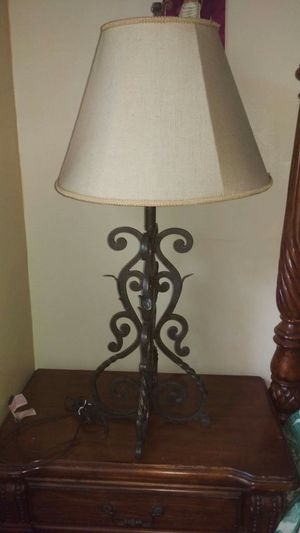 Wrought iron table lamp for Sale in Hacienda Heights, CA